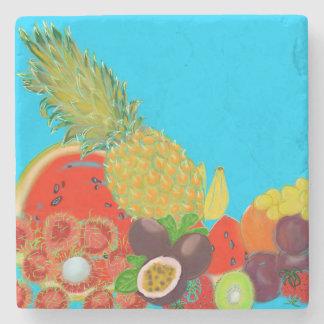 Fruchtsalat Steinuntersetzer