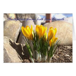 Frühling weiter karte