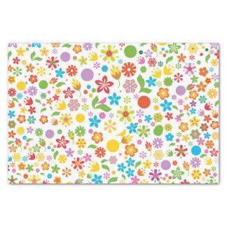Frühlings-Blumen Seidenpapier