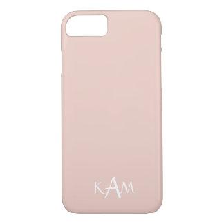 Frühlings-Designer 2017 färbt blaß - rosa iPhone 8/7 Hülle
