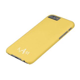 Frühlings-Designer 2017 färbt Primel-Gelb Barely There iPhone 6 Hülle