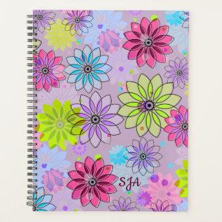 Frühlings-mit Blumenwöchentliches/monatlich Planer