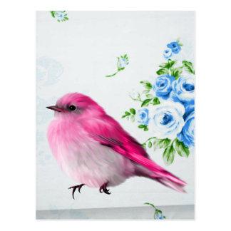Frühlings-Piepmatz Postkarte