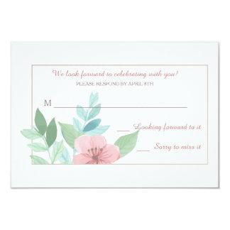 Frühlings-Romance Wartekarten 8,9 X 12,7 Cm Einladungskarte
