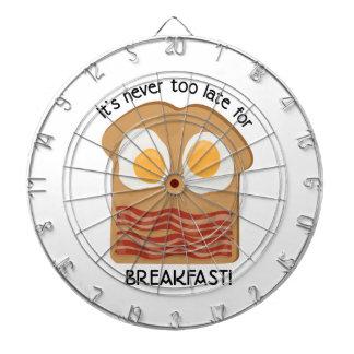 Frühstück! Dartscheiben