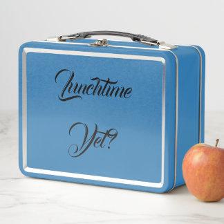 Frühstücks-Mittagessen-Abendessen-Imbiss-Yum Metall Lunch Box