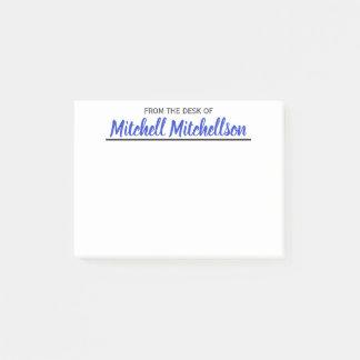FTDO geliebtes blaues personalisiertes Post-it Klebezettel