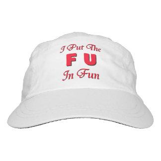 FU im Spaß Headsweats Kappe