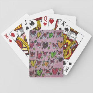 Fuchsblätter Pokerdeck