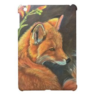 Fuchslandschaftsfarbenmalereihandkunstnatur iPad Mini Cover