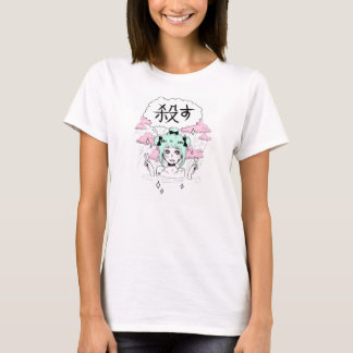 führen Sie grrl durch T-Shirt