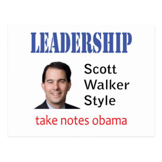 Führung: Scott-Wandererart Postkarte