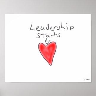 Führungs-Plakat Poster