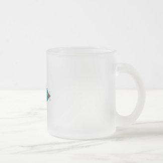 Füllen Sie das Meer Matte Glastasse