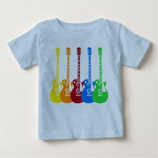 Fünf E-Gitarren Baby T-shirt