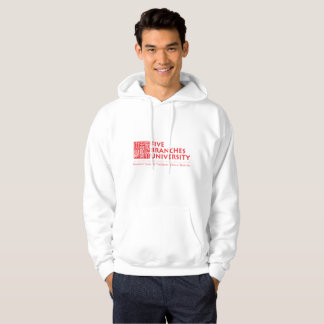 Fünf Niederlassungs-Hochschulstrickjacke Hoodie