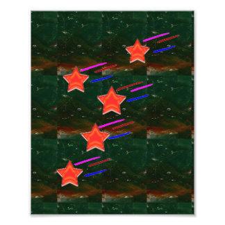Fünf-SternefiveSTARS Photographischer Druck