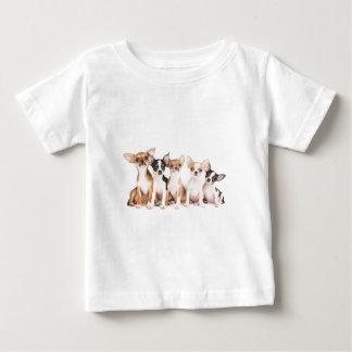 Fünf Welpen Baby T-shirt