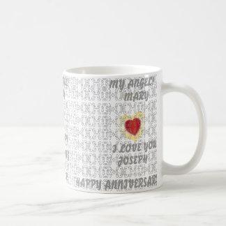 Fünfundzwanzigstes Weddind Jahrestag-Fertigen Tasse