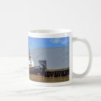 Fünfzigerjahre Schlepper-Boot Gluvias Kaffeetasse