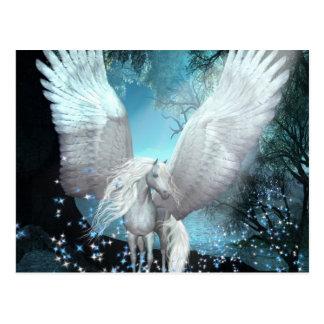 Funkeln Pegasus Postkarten