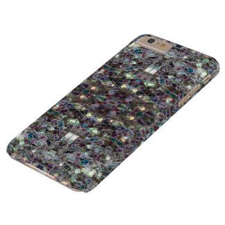 Funkelnd buntes silbernes Mosaik v4 - Mandala Barely There iPhone 6 Plus Hülle