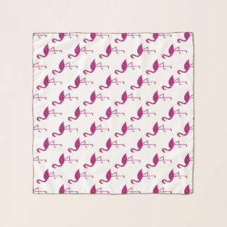 Funkelnd Flamingo Rosa-Glitter-Glitzernmuster Schal