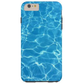Funkelndes blaues Swimmingpool-Wasser Tough iPhone 6 Plus Hülle