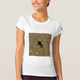 FunkelnEinhorn golden T-Shirt