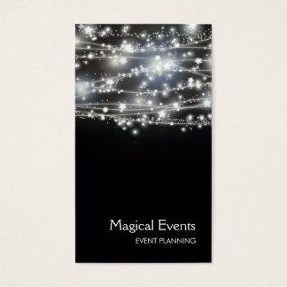Funkelnstern-Event-Planer Visitenkarten