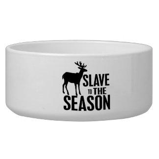 Funny Deer Hunter Pet Bowl