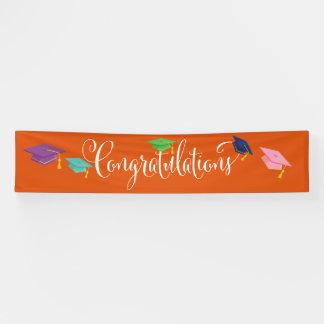 Für Amanda-Glückwunsch-Abschluss-Fahne Banner