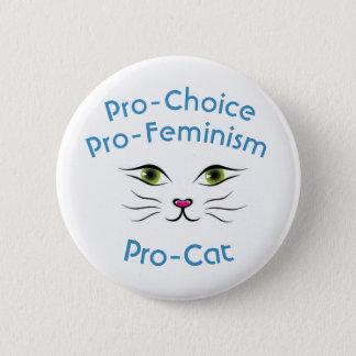Für das Recht auf Abtreibung Pro-feminismus Runder Button 5,1 Cm