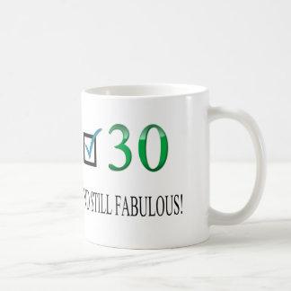 Für den 30. Geburtstag Tasse