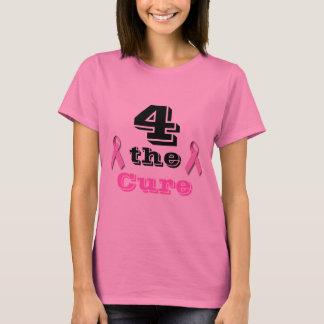 Für die Heilung - Brustkrebs T-Shirt