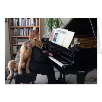 Für die Liebe von Musik Maddie Liebe-Musik Grußkarte
