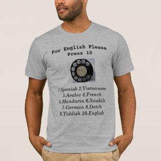 Für Englisch-Presse 10 T-Shirt