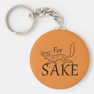 Für Fox-Grund Schlüsselanhänger