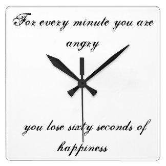 Für jede Minute sind Sie verärgert…. Uhren