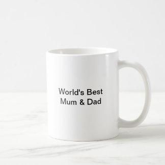 Für Mama u. Vati Kaffeetasse