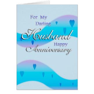 Für meinen Ehemann (Jahrestag) Grußkarte