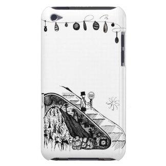 für schwarzen Dschungel iPod Touch Case