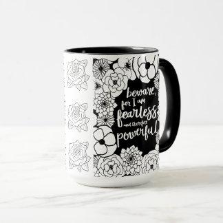 Furchtlose leistungsfähige Kaffee-Tasse n Tasse