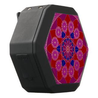 Fusia Rose blauer rosa DiamantMandala Schwarze Bluetooth Lautsprecher