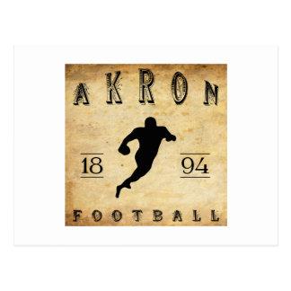 Fußball 1894 Akrons Ohio Postkarte