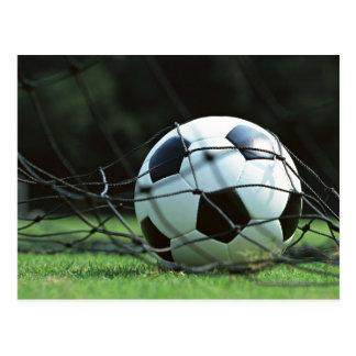 Fußball 3 postkarte