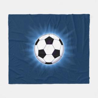 Fußball-Ball-Fleece-Decke Fleecedecke