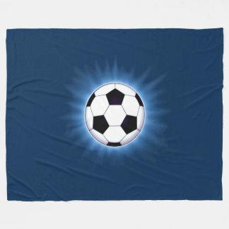Fußball-Ball-große Fleece-Decke Fleecedecke