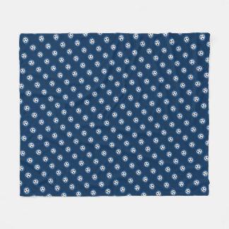 Fußball-Ball-Muster-Fleece-Decke Fleecedecke