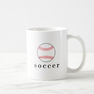 Fußball-Baseball-lustiger unglaublich witzig Tasse